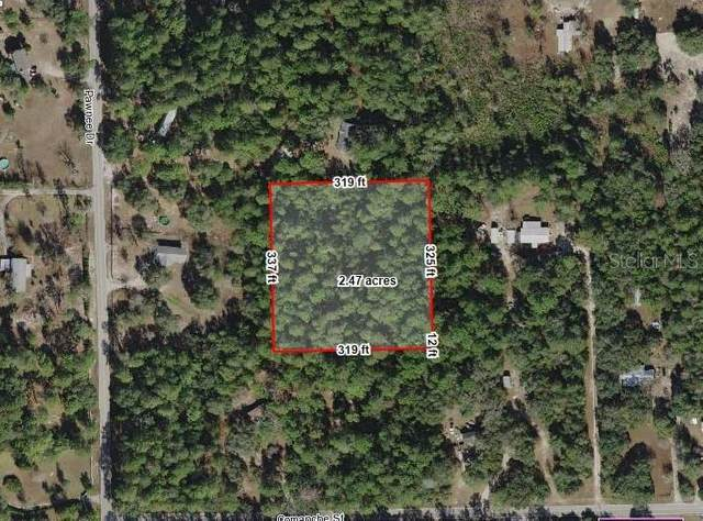 Pawnee Drive, Brooksville, FL 34601 (MLS #G5038483) :: Better Homes & Gardens Real Estate Thomas Group