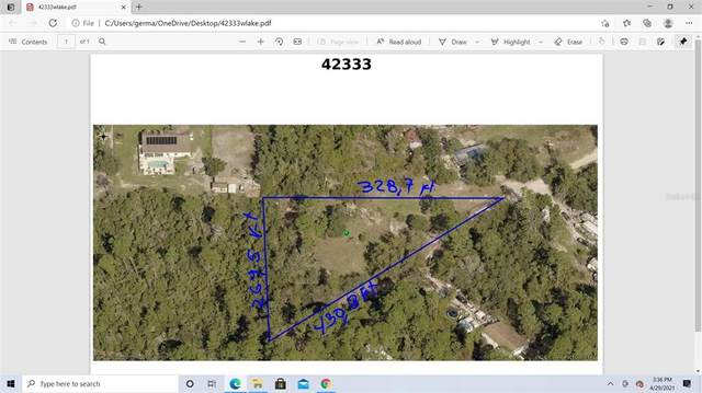 42333 W Lake Road, Deland, FL 32720 (MLS #G5041505) :: Florida Life Real Estate Group