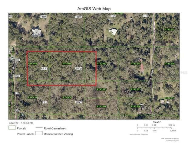 Sw 43Rd Ter, Webster, FL 33597 (MLS #G5047185) :: The Truluck TEAM