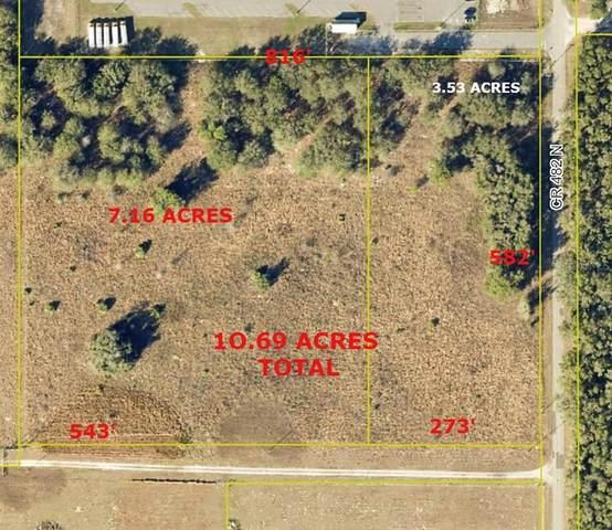 0 Cr 482 N N, Lake Panasoffkee, FL 33538 (MLS #G5048111) :: RE/MAX Local Expert