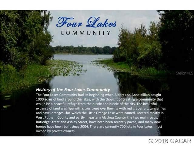 Lot212 Little Orange Lake Drive, Hawthorne, FL 32640 (MLS #GC379538) :: Team Saveela & Ace Remax Professionals