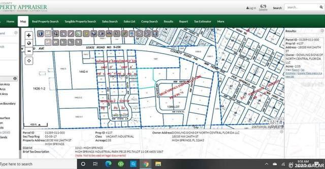 TBD NW 246 Street, High Springs, FL 32643 (MLS #GC439512) :: Abraham Agape Group