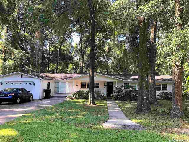 5111 NW 4th Place, Gainesville, FL 32607 (MLS #GC445418) :: The Curlings Group