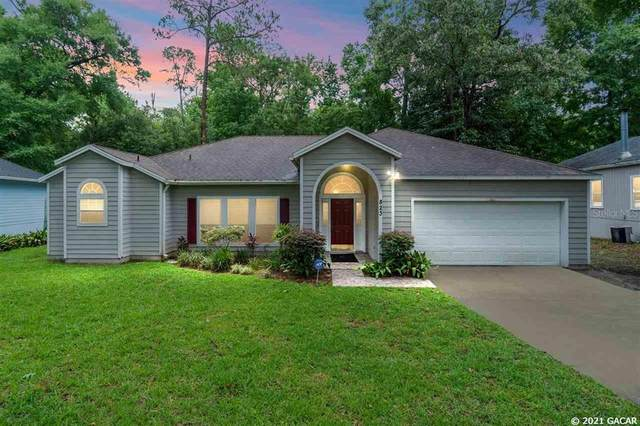 823 NW 113TH Terrace, Gainesville, FL 32606 (MLS #GC445614) :: The Curlings Group