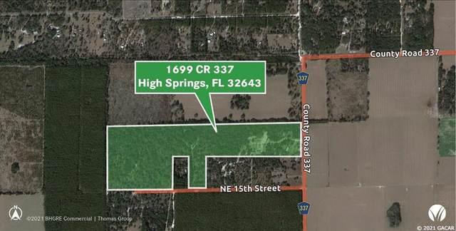 1699 NE County Road 337, High Springs, FL 32643 (MLS #GC447789) :: Team Saveela & Ace Remax Professionals