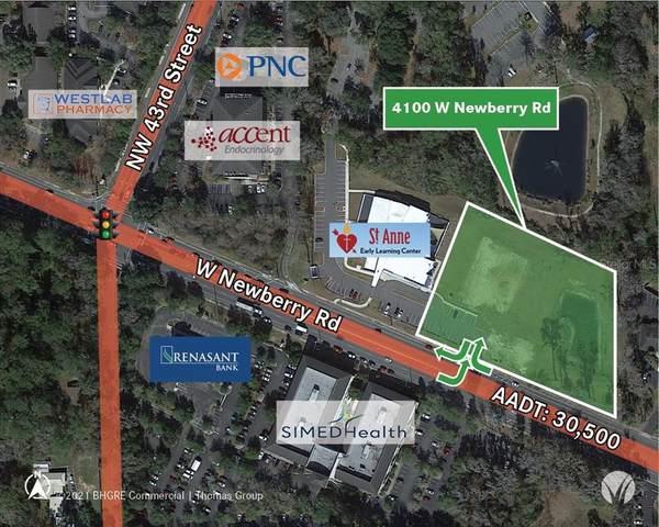 4100 W Newberry Road, Gainesville, FL 32607 (MLS #GC500388) :: Pristine Properties