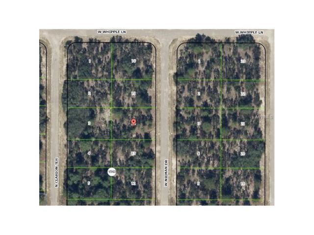 3572 W Nieman Drive, Citrus Springs, FL 34433 (MLS #H2203964) :: Team Pepka