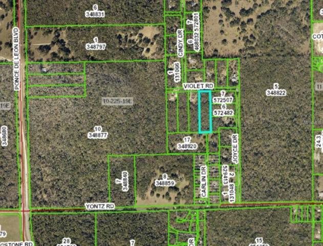 0 Violet Road, Brooksville, FL 34601 (MLS #H2400617) :: The Duncan Duo Team