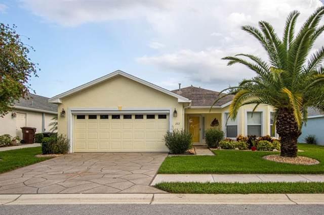 263 Lake Suzanne Drive, Lake Wales, FL 33859 (MLS #K4900543) :: Team Bohannon Keller Williams, Tampa Properties