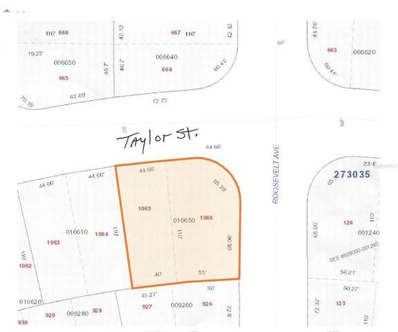 Taylor Street, Lake Wales, FL 33859 (MLS #K4901354) :: Coldwell Banker Vanguard Realty