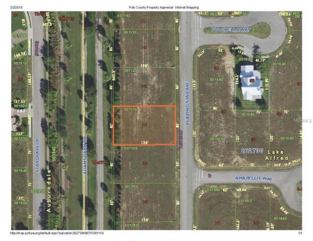 223 Blazing Star Avenue, Lake Alfred, FL 33850 (MLS #L4725391) :: G World Properties