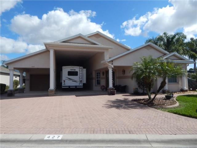 427 Cruisers Drive, Polk City, FL 33868 (MLS #L4725735) :: The Duncan Duo Team