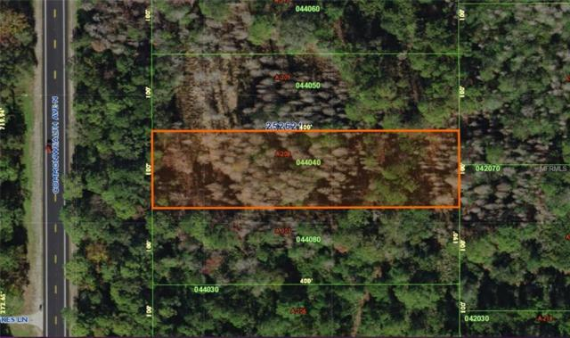 Commonwealth Lot A-208 Avenue N, Polk City, FL 33868 (MLS #L4725897) :: Premium Properties Real Estate Services