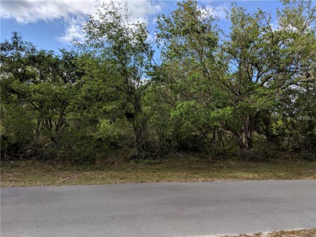 BLK 125 LOT 22 Park Avenue, Indian Lake Estates, FL 33855 (MLS #L4726375) :: KELLER WILLIAMS CLASSIC VI