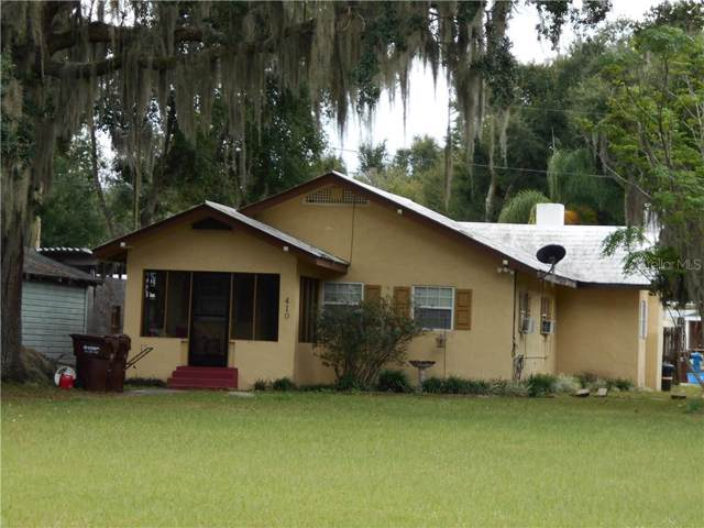 410 E Bullard Avenue, Lake Wales, FL 33853 (MLS #L4913346) :: Florida Real Estate Sellers at Keller Williams Realty