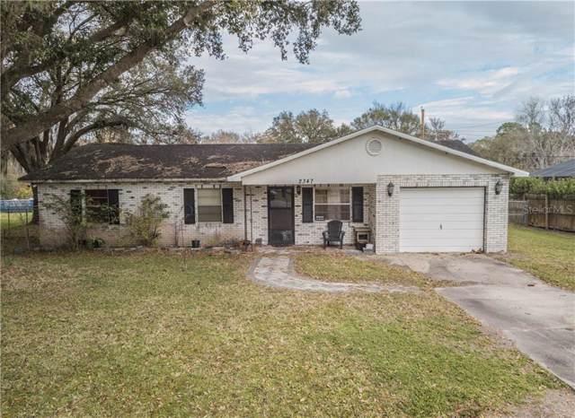 2347 Ridgeview Drive, Lakeland, FL 33810 (MLS #L4913529) :: Team Bohannon Keller Williams, Tampa Properties