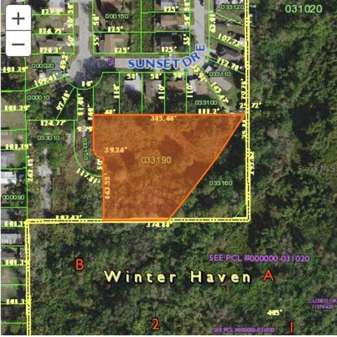 0 Sunset Drive E, Winter Haven, FL 33881 (MLS #L4919090) :: Southern Associates Realty LLC