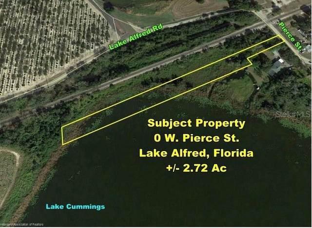 1208 Pierce Street W, Lake Alfred, FL 33850 (MLS #L4925285) :: Zarghami Group