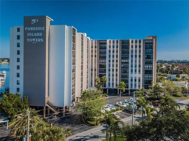 10355 Paradise Boulevard 1010-1, Treasure Island, FL 33706 (MLS #L4926165) :: Medway Realty