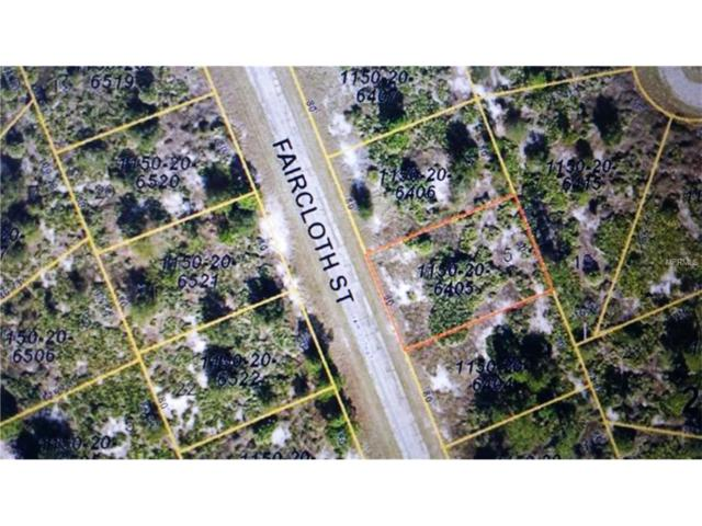 Faircloth Street, North Port, FL 34288 (MLS #N5914714) :: Premium Properties Real Estate Services
