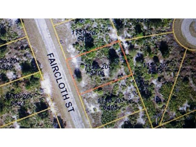 Faircloth Street, North Port, FL 34288 (MLS #N5914715) :: Premium Properties Real Estate Services