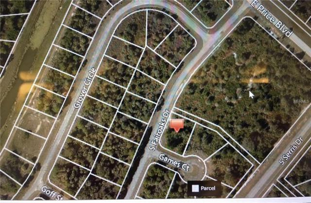 Games Court, North Port, FL 34288 (MLS #N5917173) :: KELLER WILLIAMS CLASSIC VI