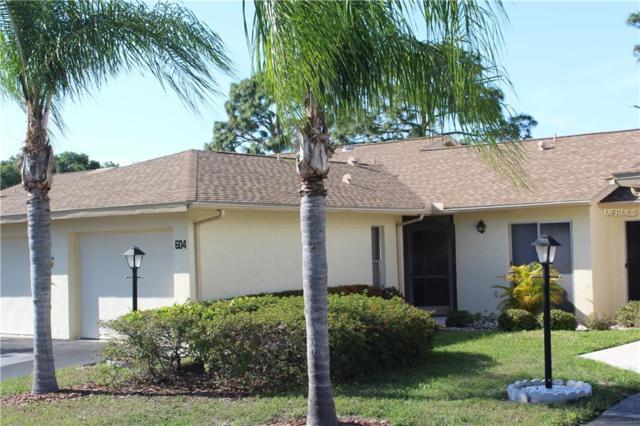 604 Pinebrook Crescent #4, Venice, FL 34285 (MLS #N6100301) :: The Duncan Duo Team