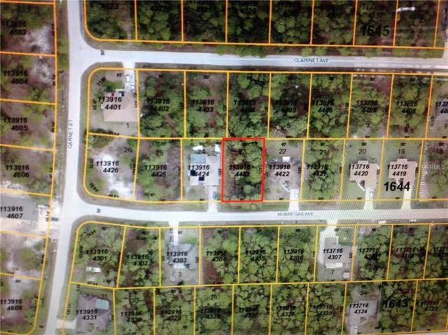 Nobregas Avenue, North Port, FL 34288 (MLS #N6100488) :: The Lockhart Team