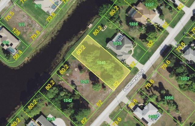 1024 Boundary Boulevard, Rotonda West, FL 33947 (MLS #N6100728) :: The BRC Group, LLC