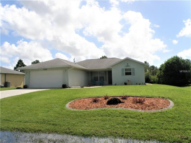 2586 Duar Terrace, North Port, FL 34291 (MLS #N6102122) :: The Duncan Duo Team