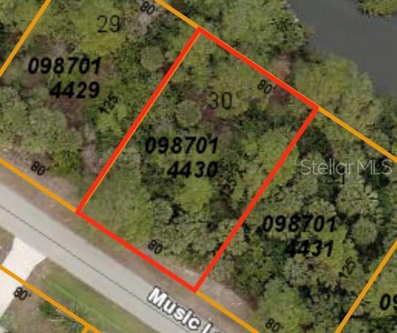 Music Lane, North Port, FL 34286 (MLS #N6105956) :: Griffin Group
