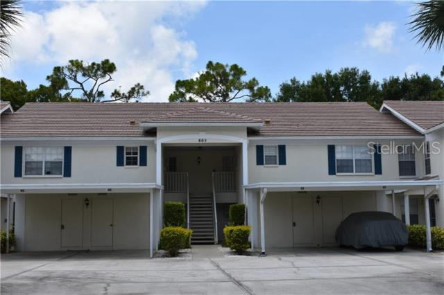 805 Montrose Drive #103, Venice, FL 34293 (MLS #N6106035) :: Griffin Group