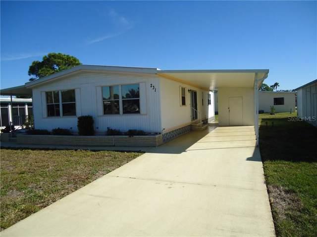 231 Estrada, North Port, FL 34287 (MLS #N6108254) :: Team Bohannon Keller Williams, Tampa Properties