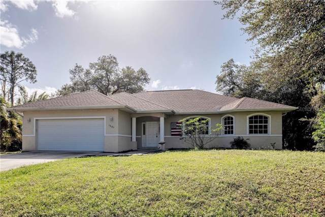 1885 Alabelle Lane, North Port, FL 34286 (MLS #N6108612) :: Lockhart & Walseth Team, Realtors