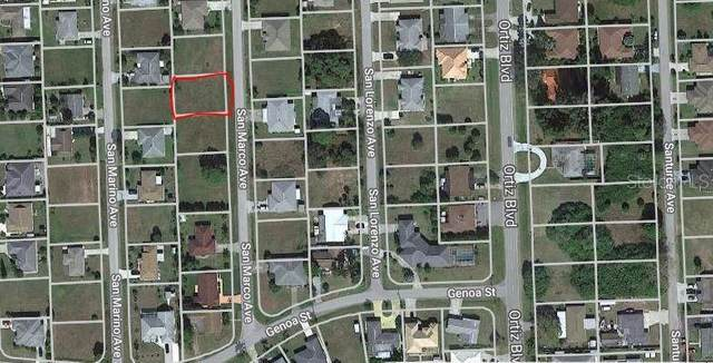 San Marco Avenue, North Port, FL 34287 (MLS #N6111720) :: Alpha Equity Team