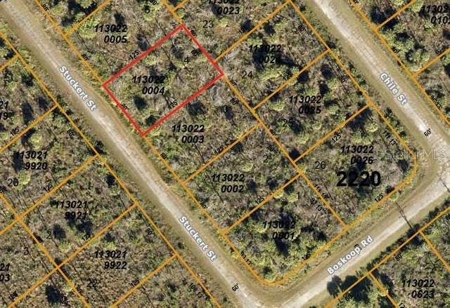 Stuckert Street, North Port, FL 34288 (MLS #N6112727) :: Pristine Properties