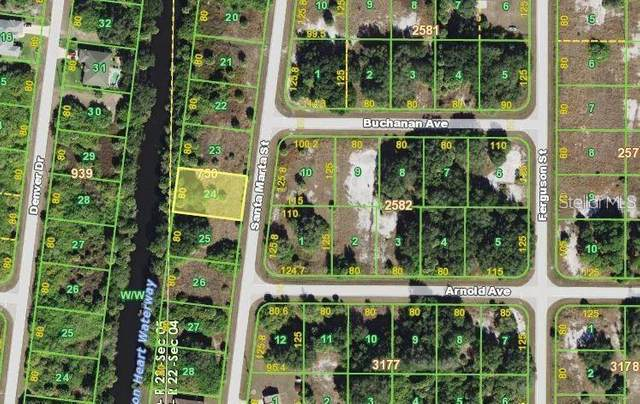 195 Santa Marta Street, Port Charlotte, FL 33954 (MLS #N6113184) :: Baird Realty Group