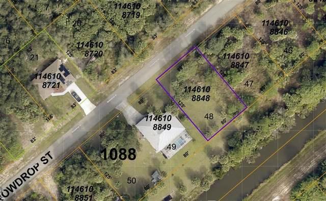 Lot 48 Snowdrop Street, North Port, FL 34288 (MLS #N6114867) :: SunCoast Home Experts