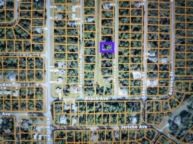 Merced Street, North Port, FL 34288 (MLS #N6114969) :: Florida Real Estate Sellers at Keller Williams Realty