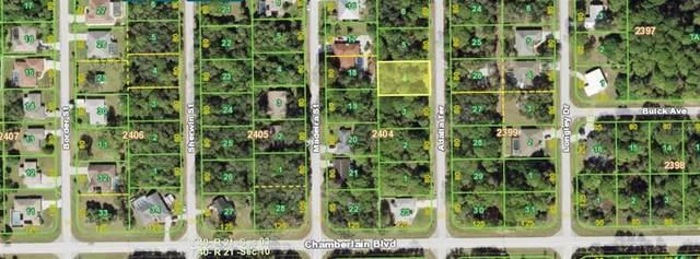557 Adalia Terrace, Port Charlotte, FL 33953 (MLS #N6115381) :: The Lersch Group
