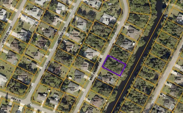 Mac Caughey Drive, North Port, FL 34287 (MLS #N6115423) :: Armel Real Estate