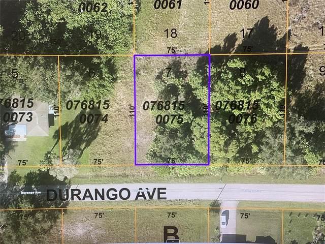 Durango Avenue, North Port, FL 34287 (MLS #N6117508) :: RE/MAX Elite Realty