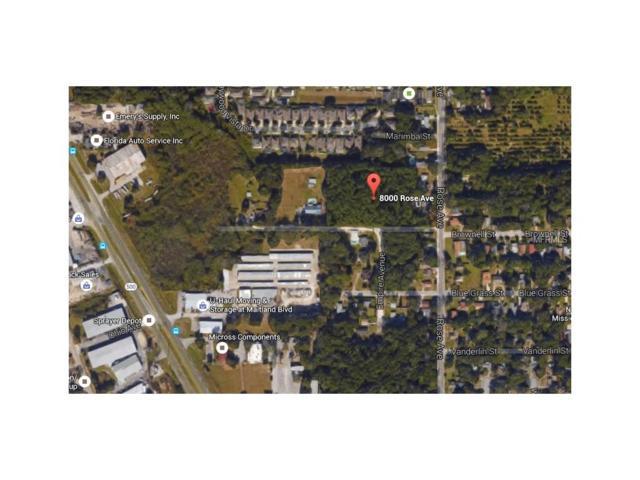 8000 Rose Avenue, Orlando, FL 32810 (MLS #O5431928) :: The Duncan Duo Team