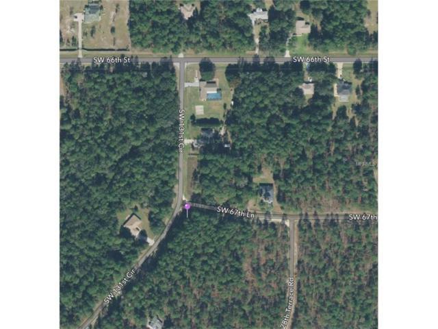 Corner Of Sw 67Th Ln And Sw 131St Cir, Ocala, FL 34481 (MLS #O5489037) :: G World Properties