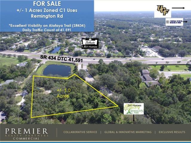 Remington Road, Oviedo, FL 32765 (MLS #O5536505) :: G World Properties