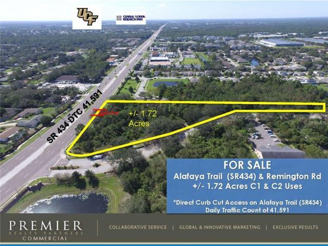 Alafaya Trail And Remington Rd, Oviedo, FL 32765 (MLS #O5536507) :: G World Properties