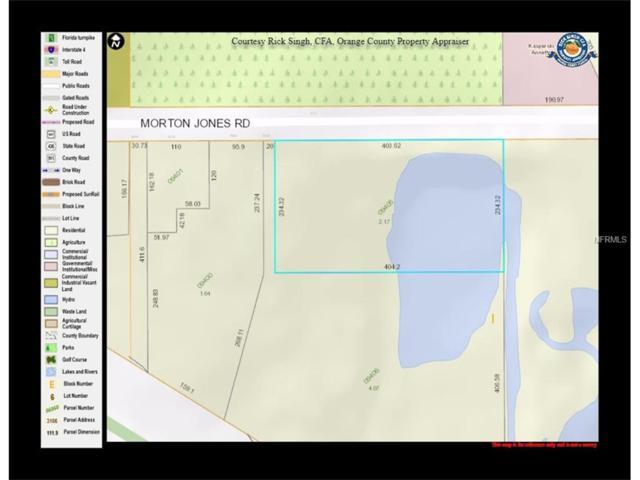 Morton Jones Road, Gotha, FL 34734 (MLS #O5542005) :: G World Properties
