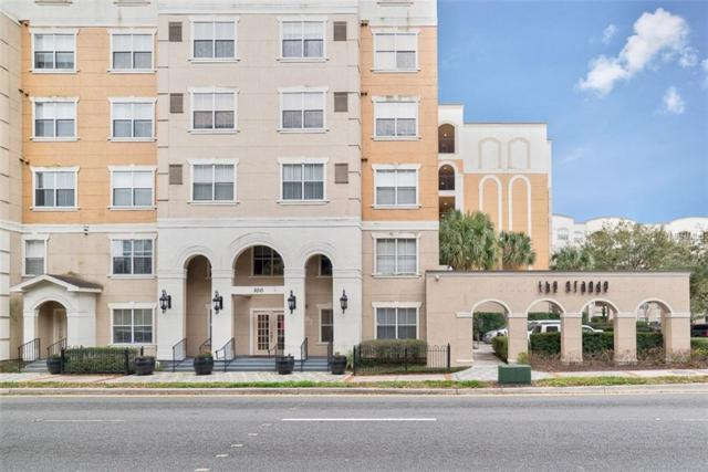 300 E South Street #5009, Orlando, FL 32801 (MLS #O5563024) :: G World Properties