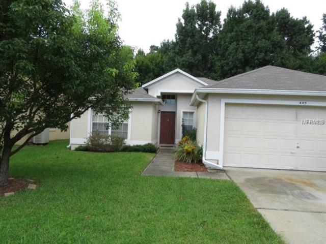 445 Lancers Drive, Winter Springs, FL 32708 (MLS #O5563344) :: G World Properties