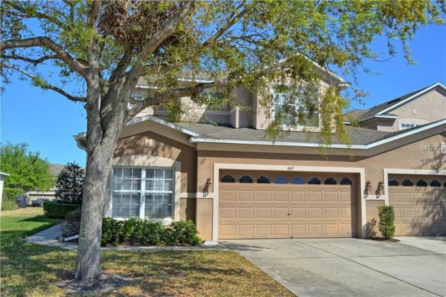 647 Canyon Stone Circle, Lake Mary, FL 32746 (MLS #O5570292) :: Griffin Group
